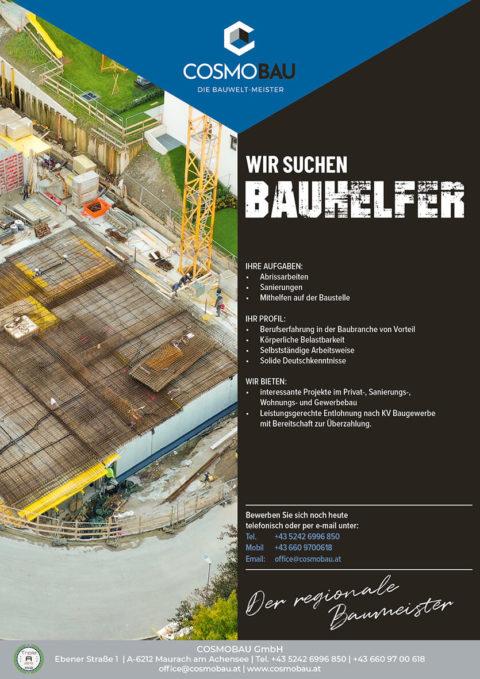 Bauhelfer m/w